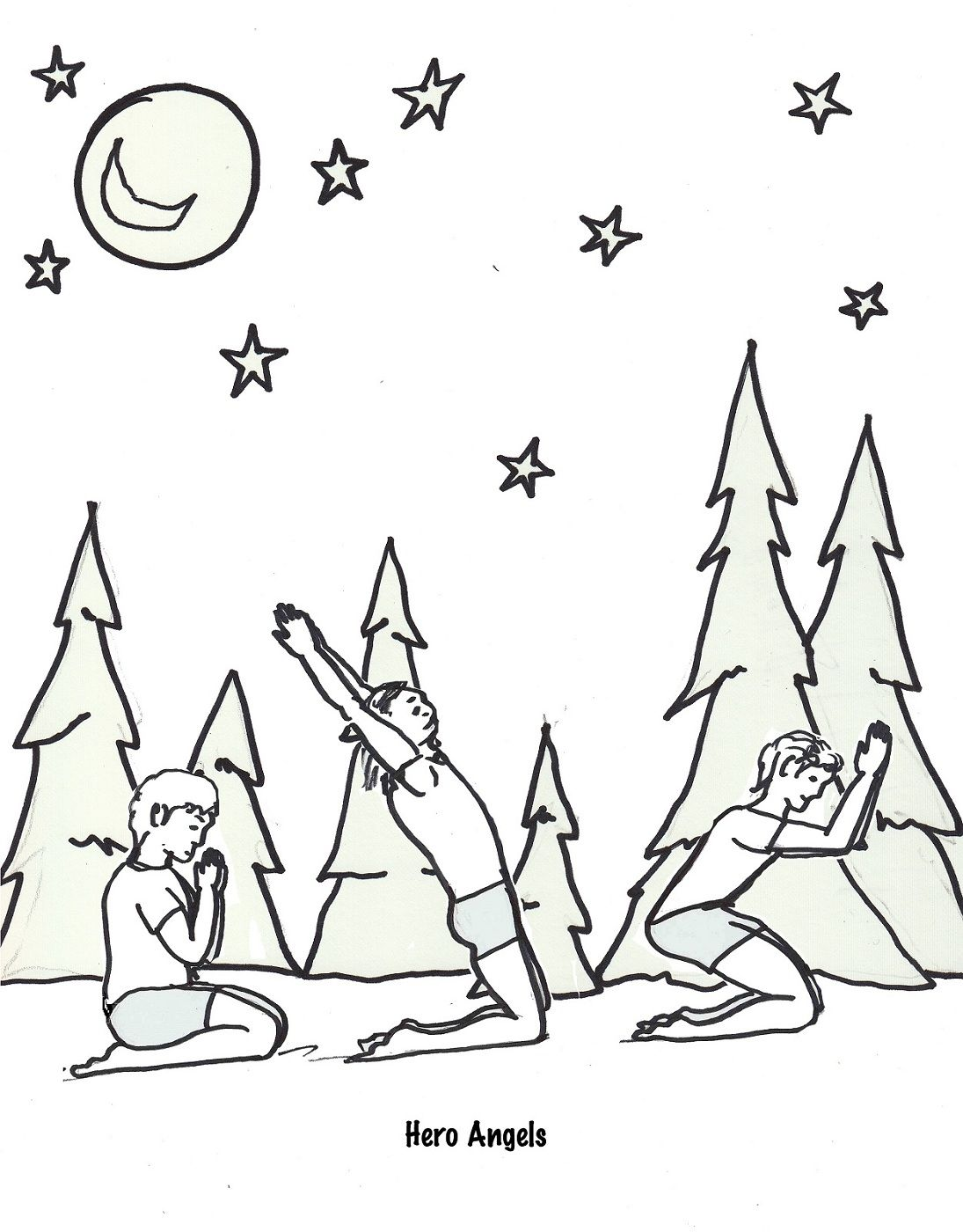 Yoga Coloring Pages to Print | Activity Shelter | Coloring Pages ...