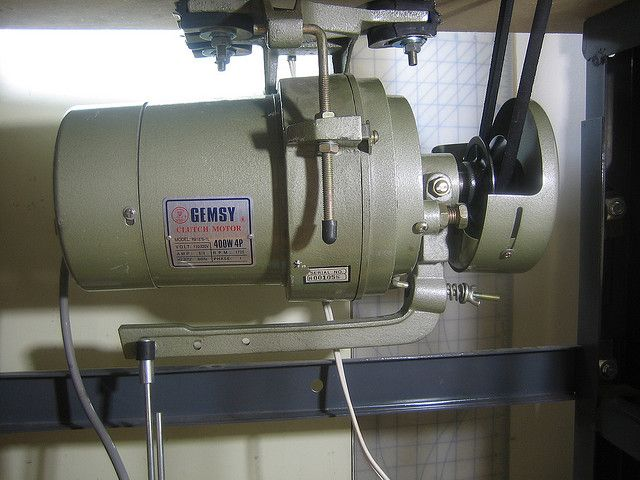 Hacking An Industrial Sewing Machine By Adjusting The Clutch Motor