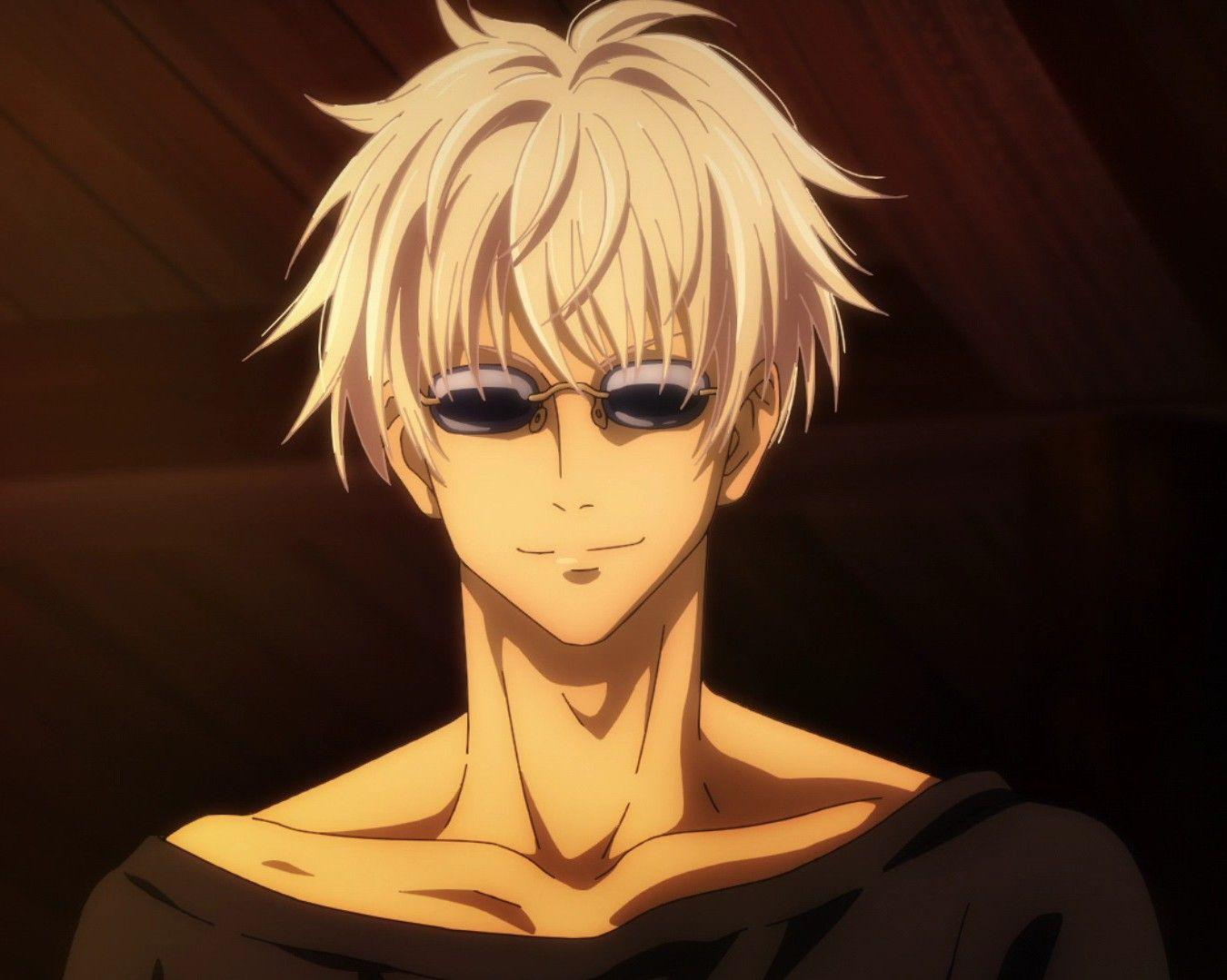 Gojo Satoru Being Hot Aesthetic Anime Jujutsu Anime