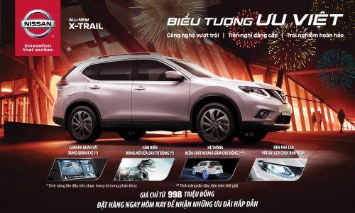 Khach Hang Mua Xe Nissan X Trail Hoan Toan Mới Trong Thang 01 Năm 2017 Sẽ Nhận được Li Xi May Mắn đầu Xuan Từ Tcie Việt Nam Nissan Classic Cars Car