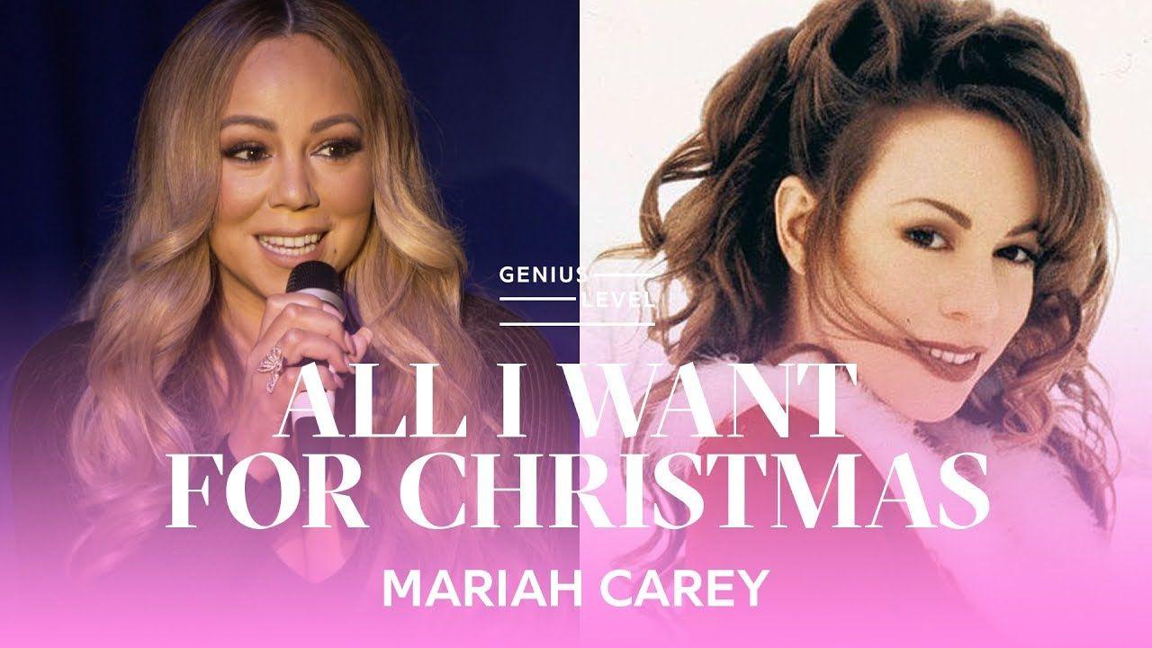 How Mariah Carey Made All I Want For Christmas Is You Genius Level Mixtape Tv Mariah Carey Carey Hip Hop And R B
