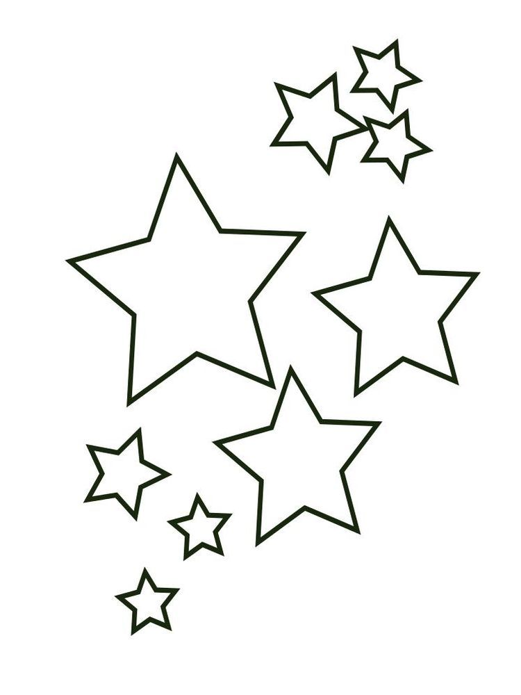 Stars And Stripes Coloring Pages We Have A Stars Coloring Page Collection That You Can Store For Yo Star Coloring Pages Star Template Printable Printable Star