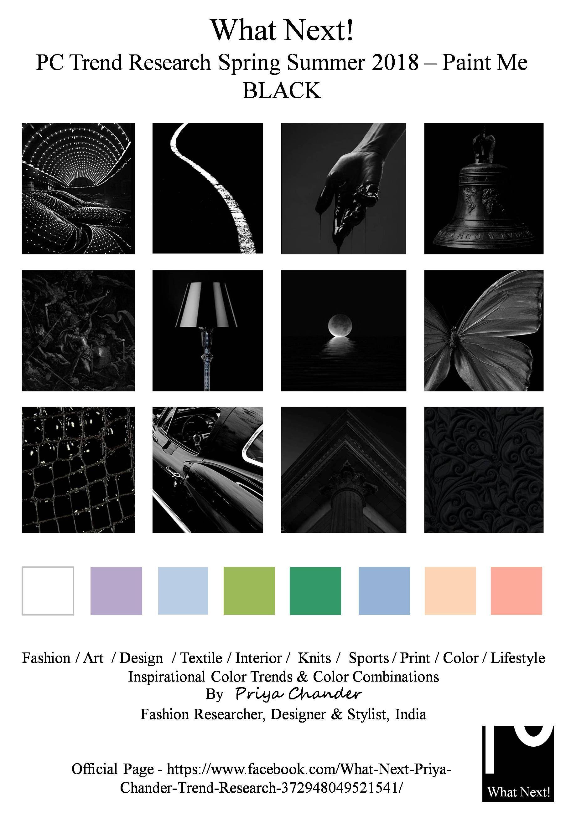 Black paintmeblack S/S 2018 fashionista Pantone