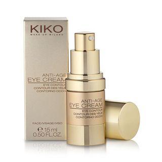 KIKO MAKE UP MILANO: Anti Age - Eye Cream: Creme antienvelhecimento para o contorno dos olhos