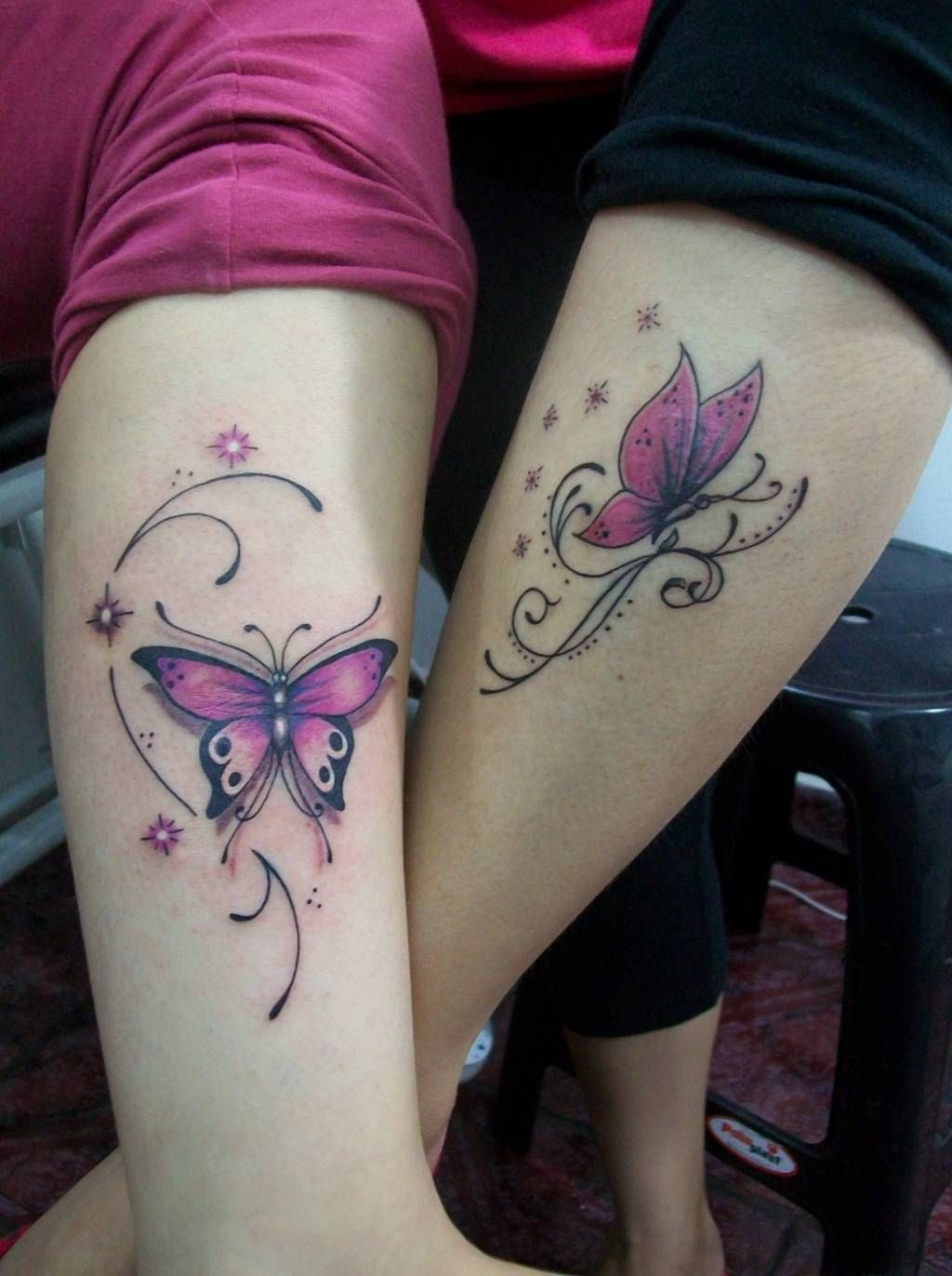 Pink Butterfly Tattoos : butterfly, tattoos, Trending, Tattoo, Ideas, Across, Globe, Purple, Butterfly, Tattoo,, Designs,, Tattoos, Images