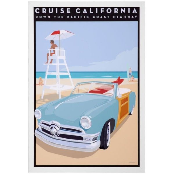 Vintage Cruise California ($100) ❤ liked on Polyvore | Polyvore ...