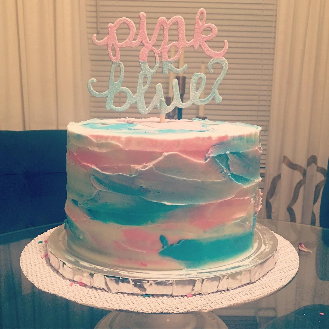 27 Gender Reveal Party Food Ideas While Pregnant | Baby kuchen ...