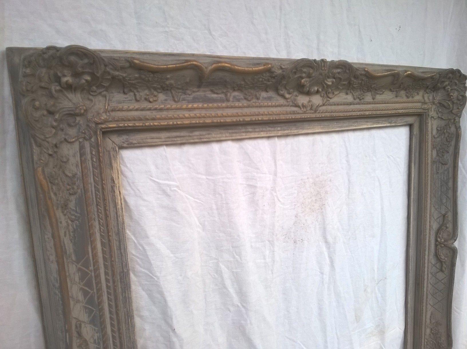 Barok Spiegel Wit : Patineren in een landelijke stijl: barok spiegel met een