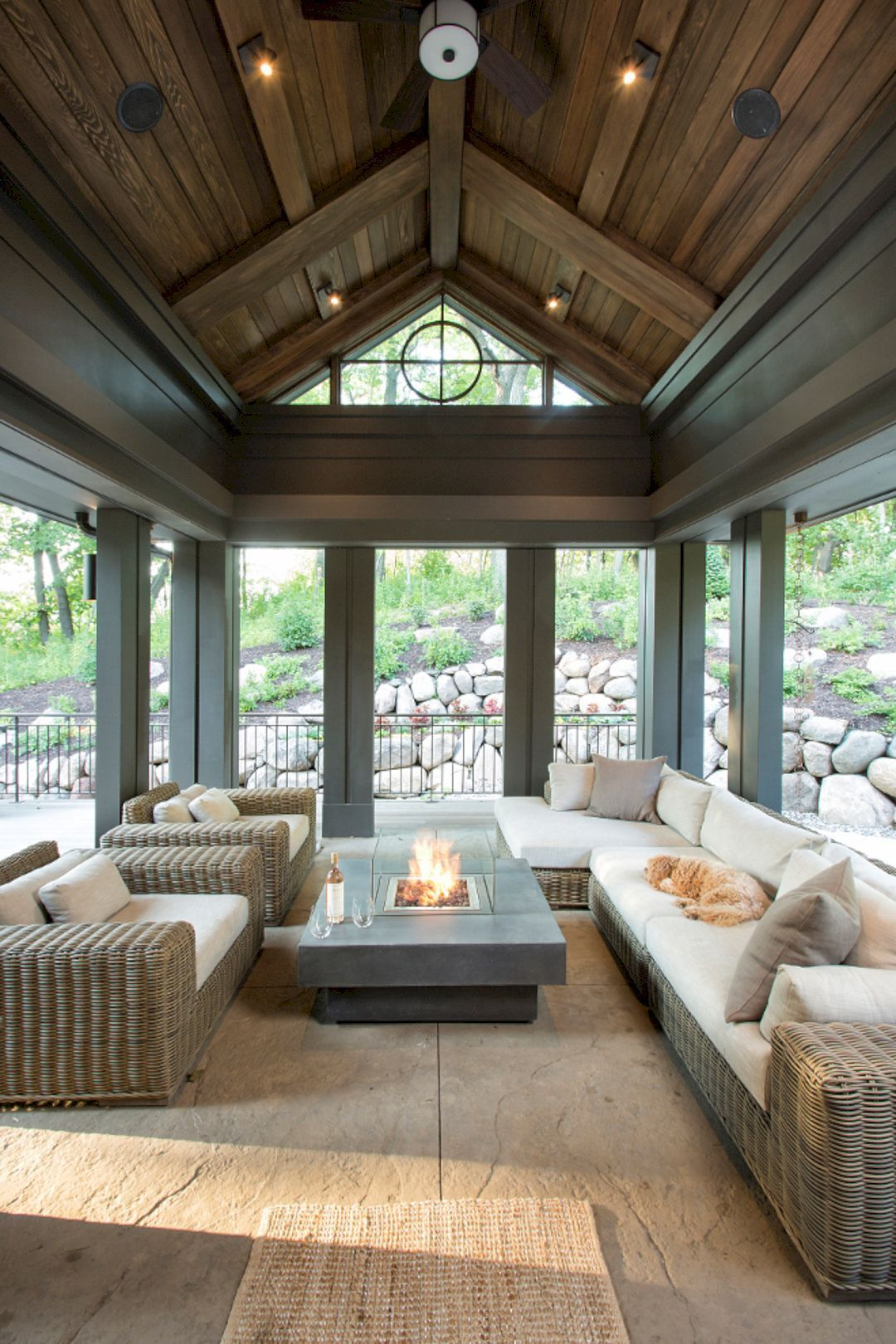 8 Ways To Have More Appealing Screened Porch Deck Modern Organic Interior Porch Design Ideas Porch Design