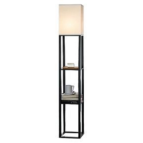 Lamps Lighting Home Decor Home Silver Floor Lamp Shelf Lamp Floor Lamp With Shelves