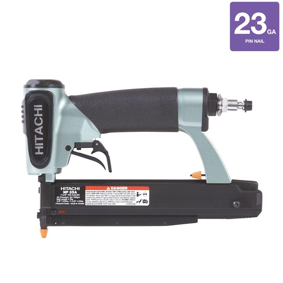 Hitachi 23-Gauge Roundhead Pin Pneumatic Nailer   Never-Ending List ...