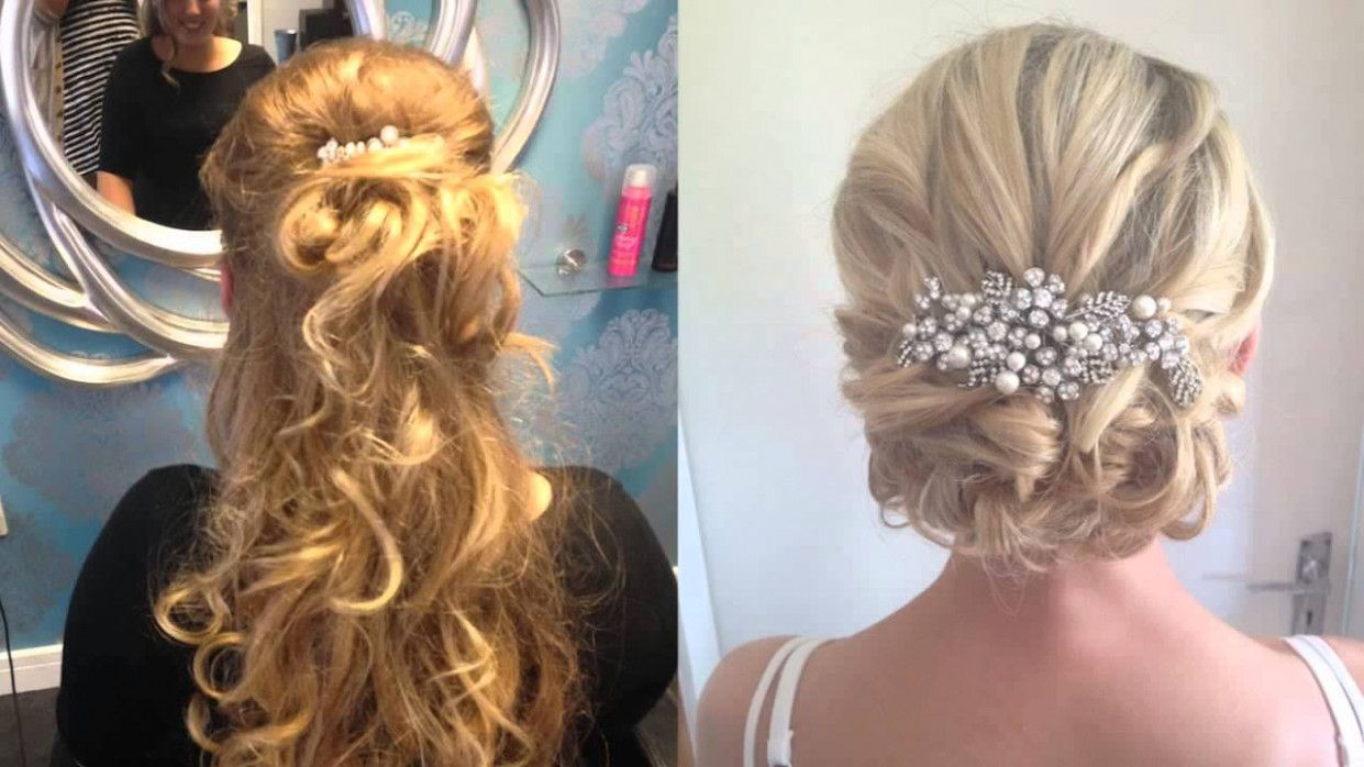 wedding hairstyles guest half up | wedding on a budget
