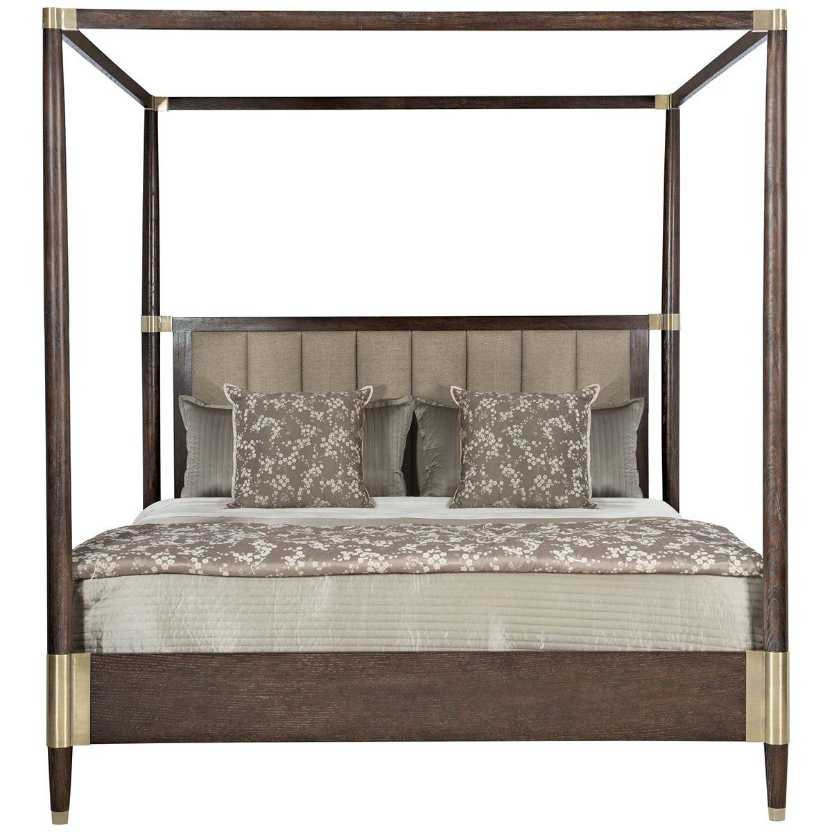 Bernhardt Clarendon Arabica Canopy Bed Wood Canopy Bed