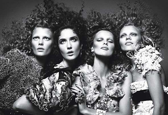Balenciaga and Chanel. Le Chic: Fashion: Wmagazine.com