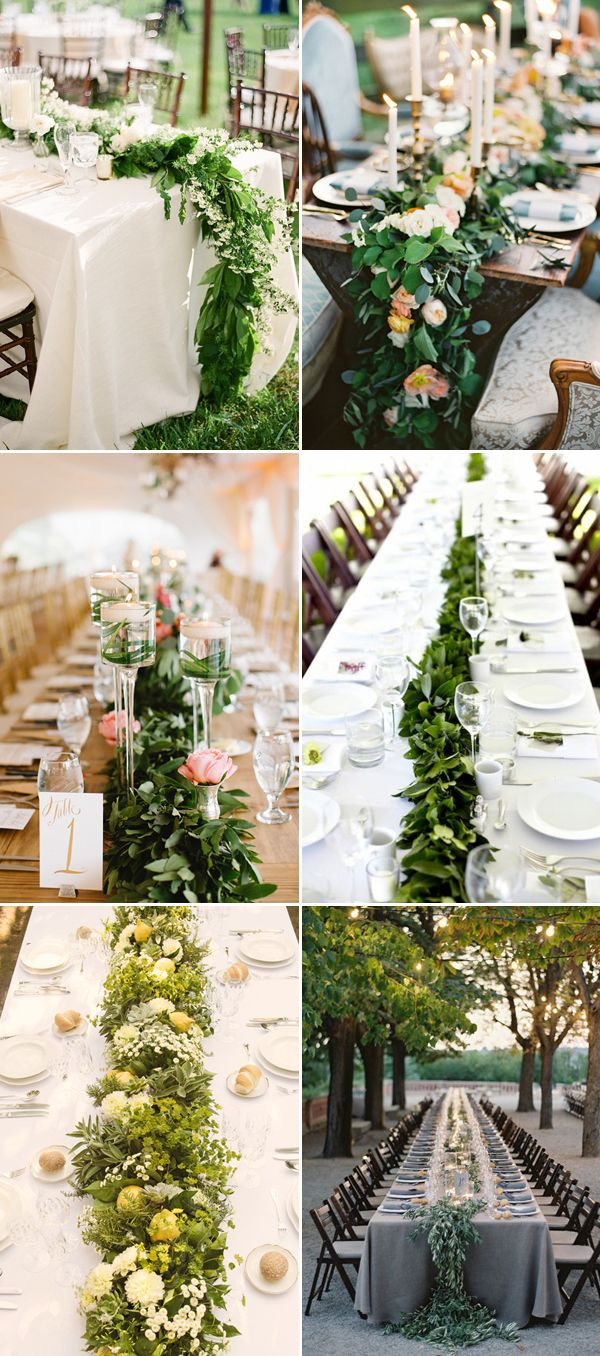 25 Statement Making Fresh Flower Table Runners Praise Wedding Table Flowers Wedding Decorations Floral Table Runner