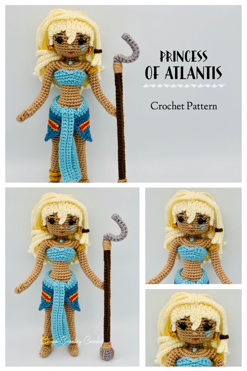 Crochet Amigurumi Doll Sam (Part 1) - Legs & Boots - YouTube ... | 1200x800