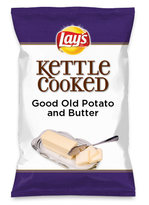 Wouldn't Good Old Potato and Butter be yummy as a chip? Lay's Do Us A Flavor is back, and the search is on for the yummiest flavor idea. Create a flavor, choose a chip and you could win $1 million! https://www.dousaflavor.com See Rules.