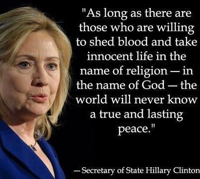 Hillary Clinton Quote Hillary Clinton Photo Gallery  Hillary Clinton 2016In The Name