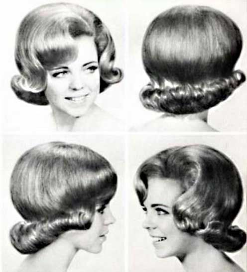 1950 And 60s Hairstyles Coiffure Annee 1950 La Coiffure De 1900 A
