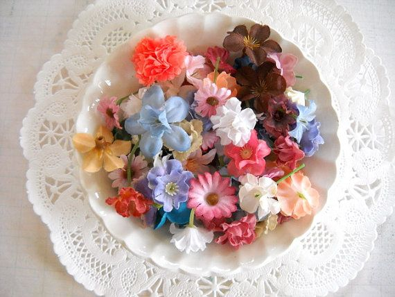 Assorted vintage millinery silk flowers supplies pinterest assorted vintage millinery silk flowers mightylinksfo