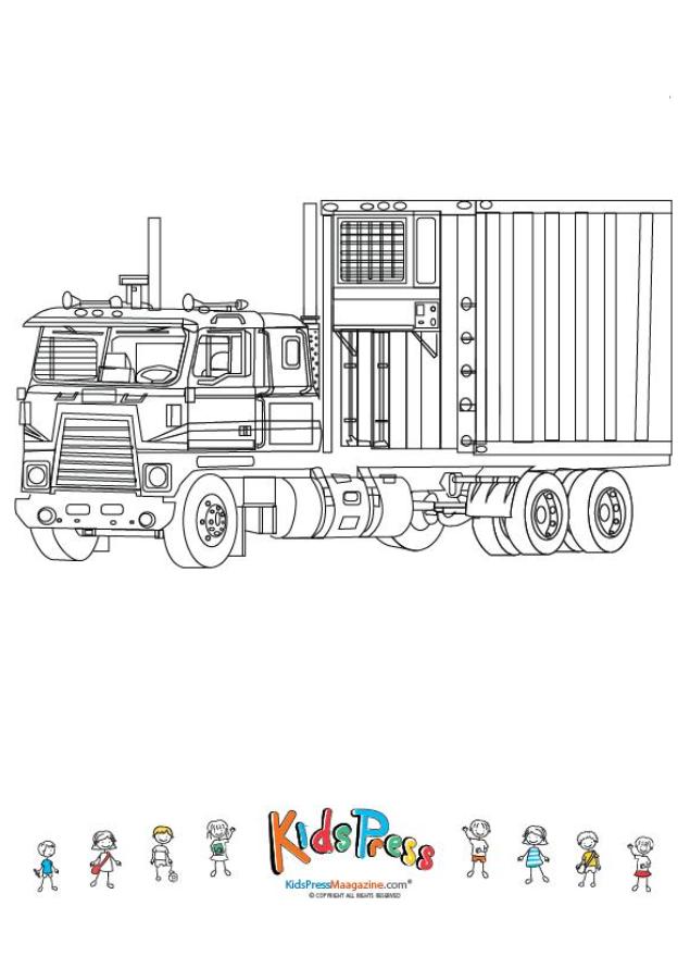 Coloring Book Mighty Driver Vol 3 Bundle