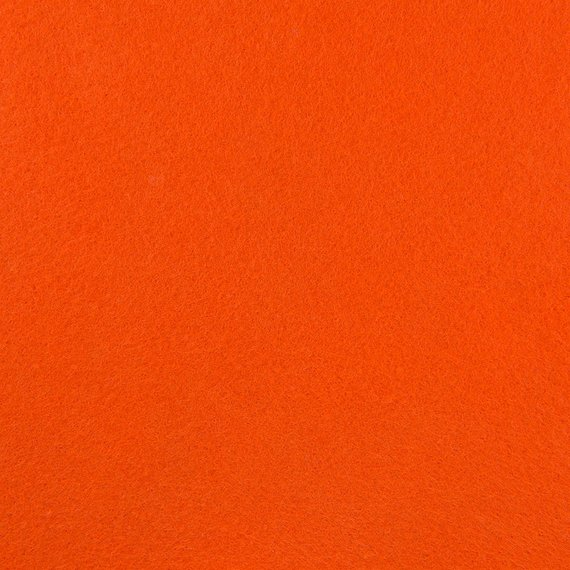 Acrylic Felt By The Yard Orange 72 Wide X 1 Yd Long X 1 16 Thick Marine Vinyl Fabric Vinyl Fabric Fleece Fabric