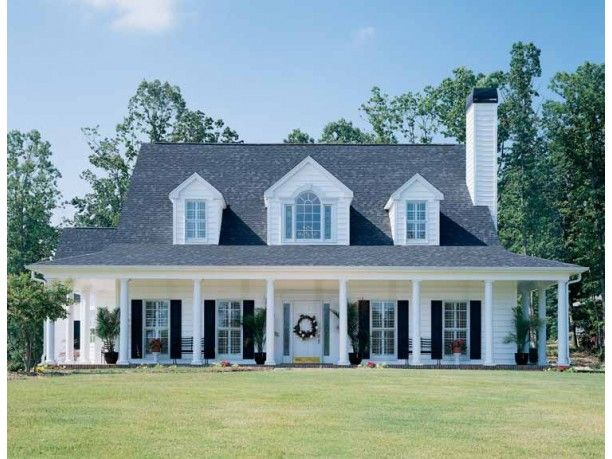 Country Style House Plan 3 Beds 2 5 Baths 1898 Sq Ft Plan 929 96 Country Style House Plans Farmhouse House House Exterior