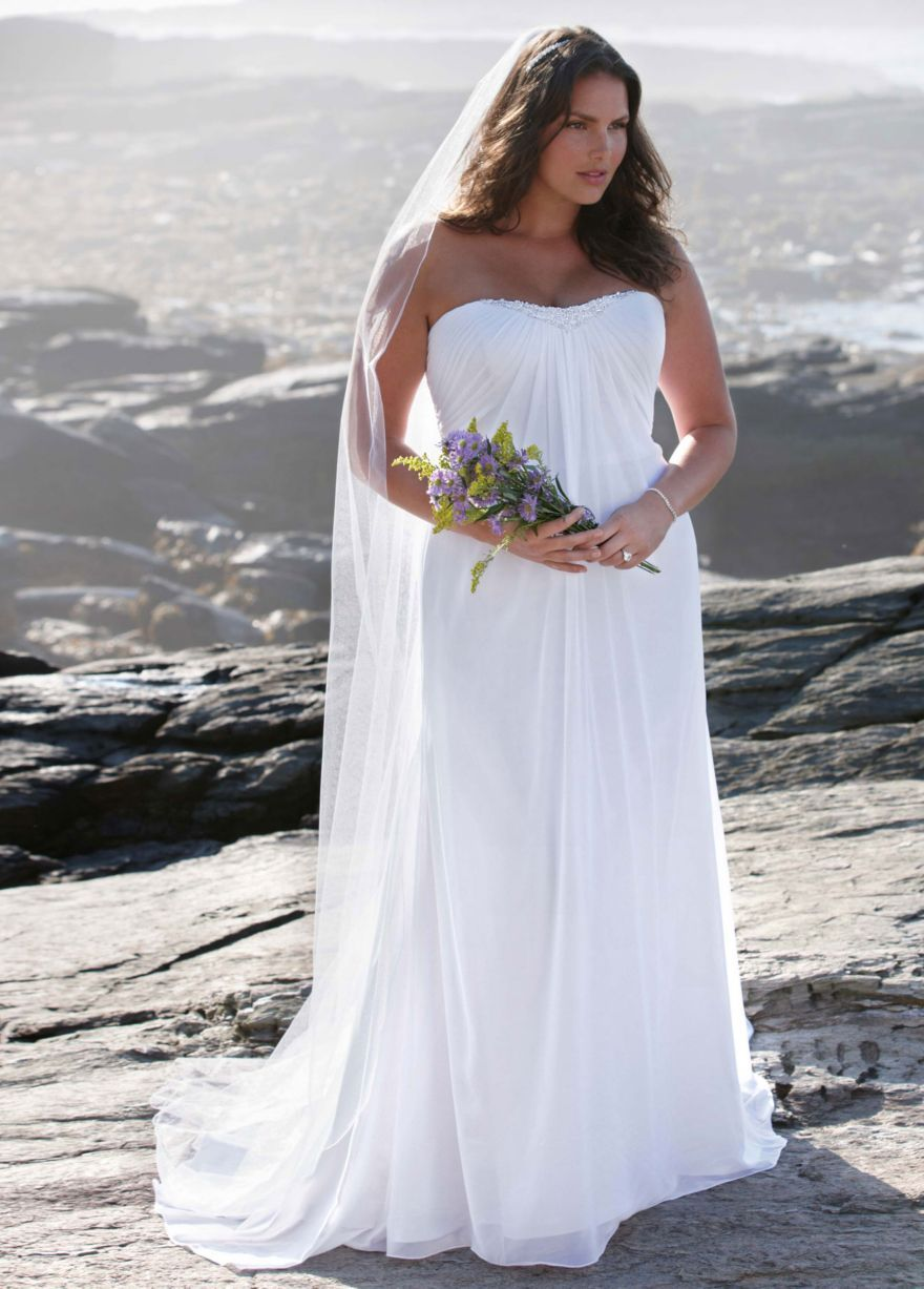 Vow renewal dress option vow renewal dream board for Wedding vow renewal dresses plus size