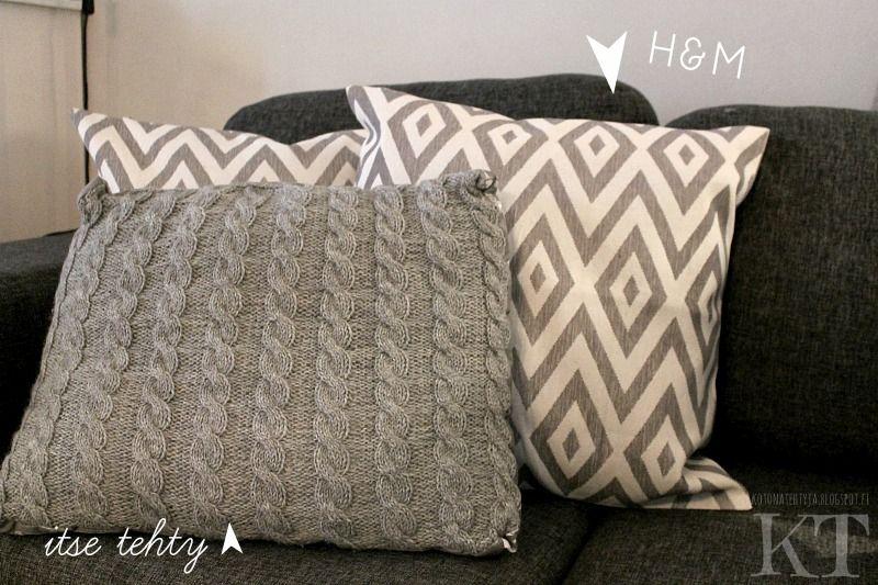 Kotona tehtyjä: New Pillows