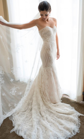 Ines Di Santo Amour This Dress For A Fraction Of The Salon Price On Preownedweddingdresses