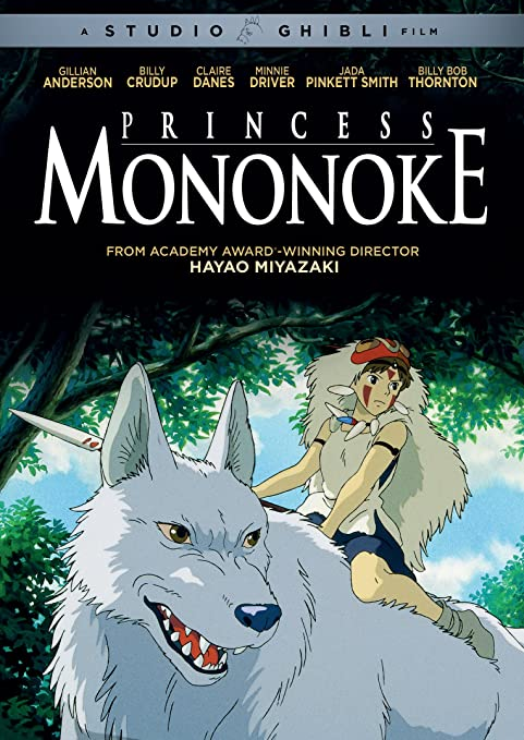 Princess Mononoke Claire Danes, Billy Crudup