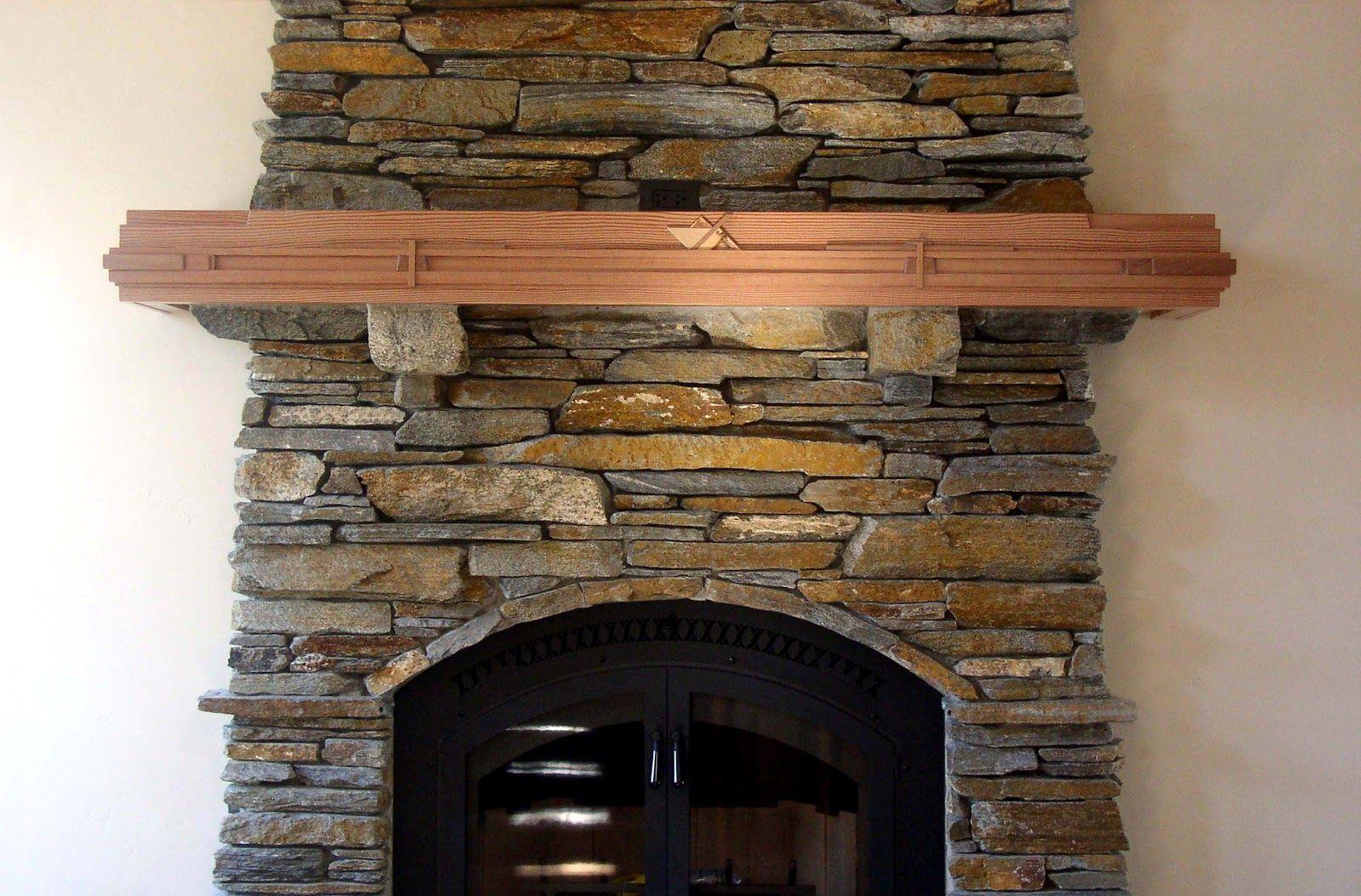 Mantel On Stone Fireplace Fireplace Surround Stone Ideas