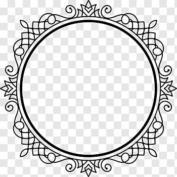 Continental Circular Border Ornamentation Free Png Circle Drawing Arrow Illustration Hand Drawn Arrows