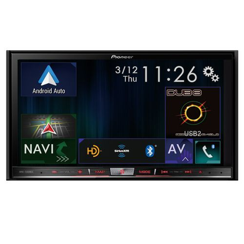 "Pioneer AVIC-7200NEX In-Dash Navigation AV Receiver with 7"" WVGA Touchscreen Display"