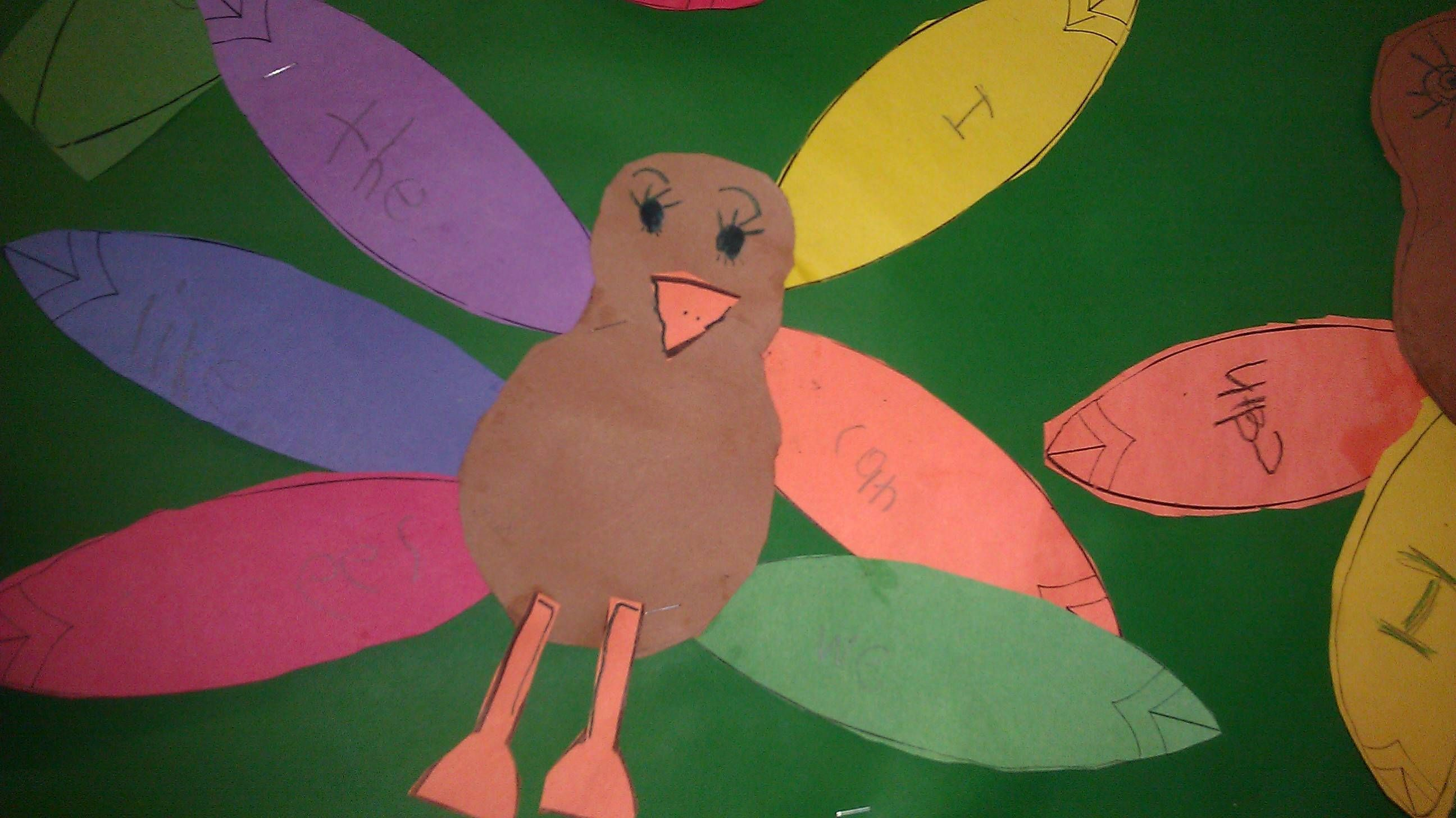 Sight word turkeys