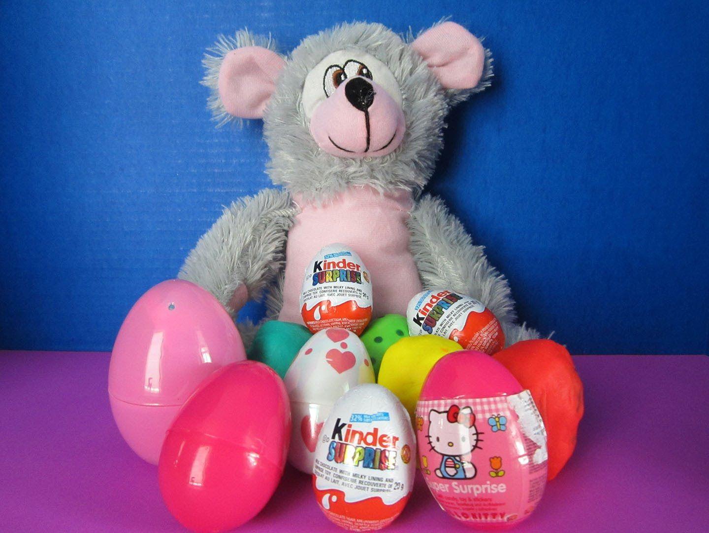 Kinder Surprise Eggs - Playdoh Surprise Eggs New 2015! Hello Kitty, My Little Pony, Littlest Pet Shop, Playdoh Eggs