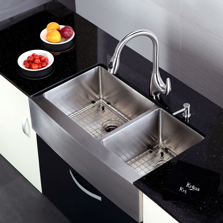 Kraus 36 60 40 Farmhouse Sink Built Up Google Search