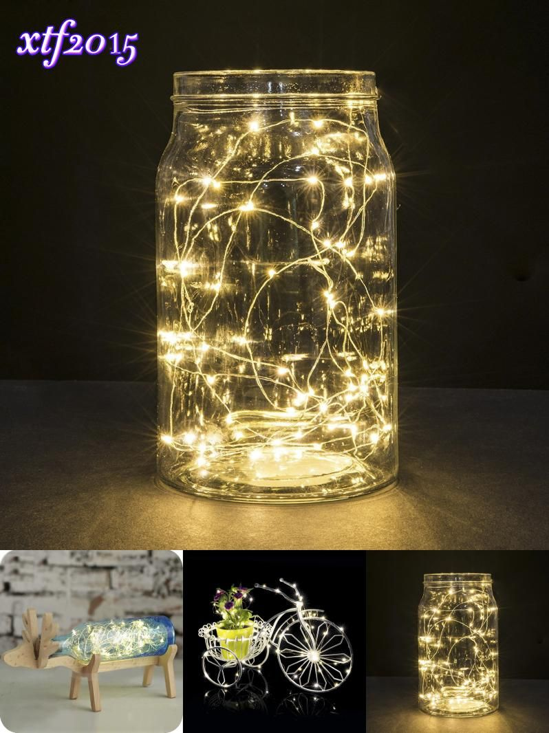 Fairy light wedding decoration ideas  Visit to Buy LED Starry String Lights Fairy Micro LEDs Copper Wire
