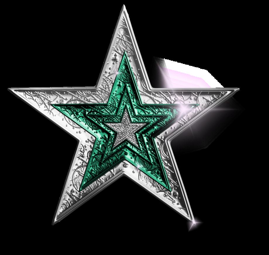 Silver Green Star Png By Jssanda On Deviantart Star Clipart Star Tattoos Star Images