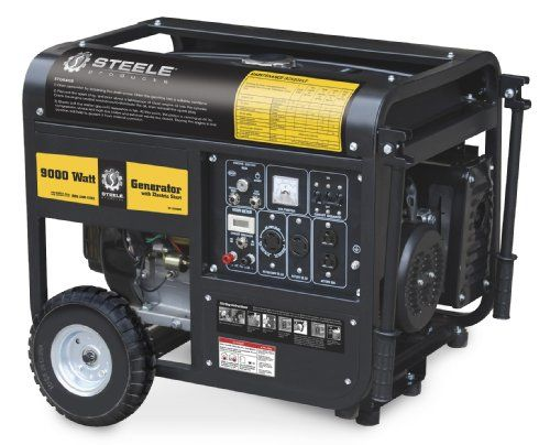 Sale Steele Products Sp Gg900e 9 000 Watt 4 Cycle Gas Powered