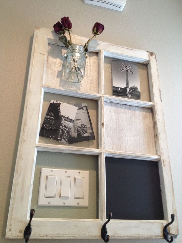 Old window idea....need to figure out what to do with the ones in ...