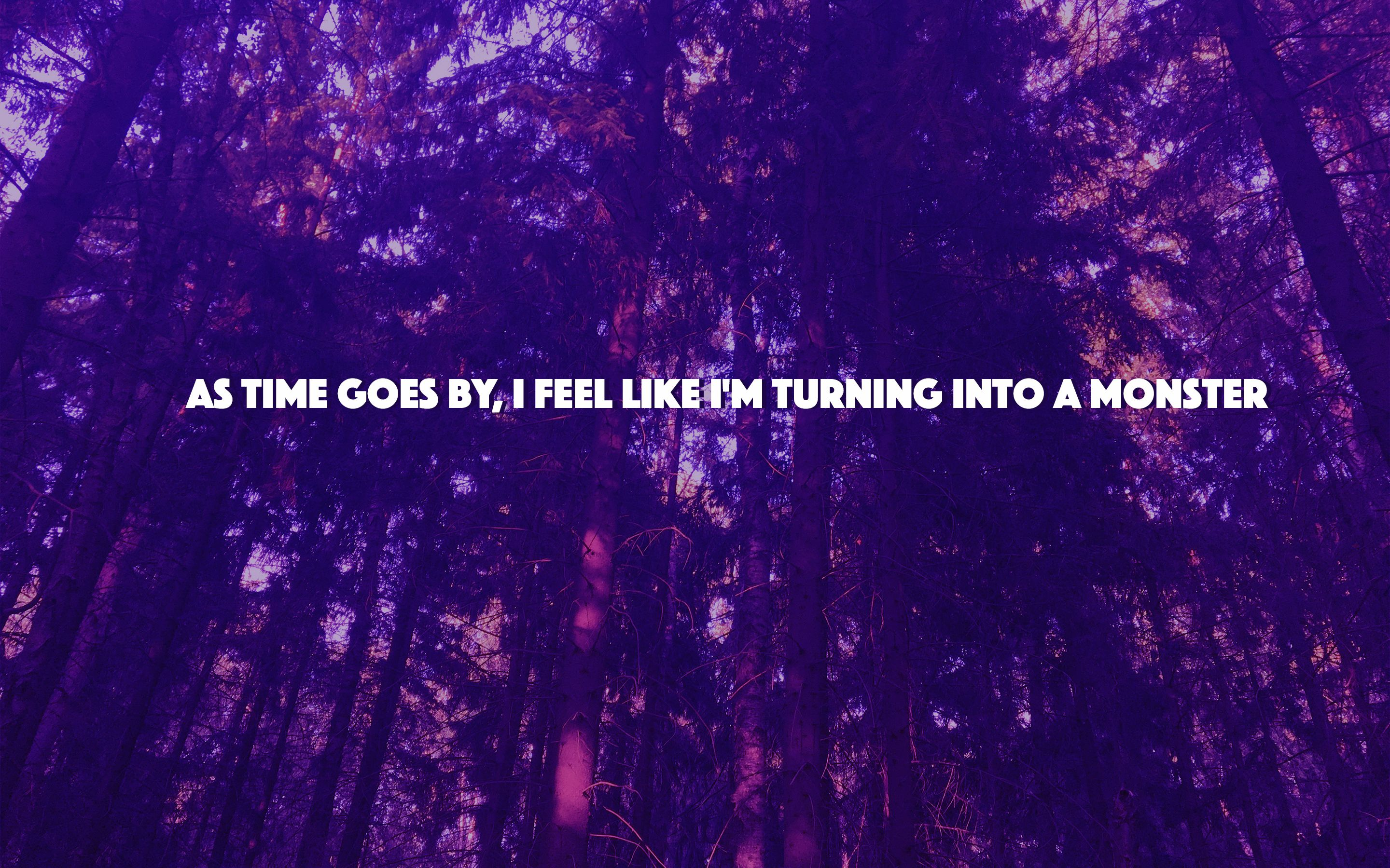 aesthetic purple monster quote monster quotes death aesthetic