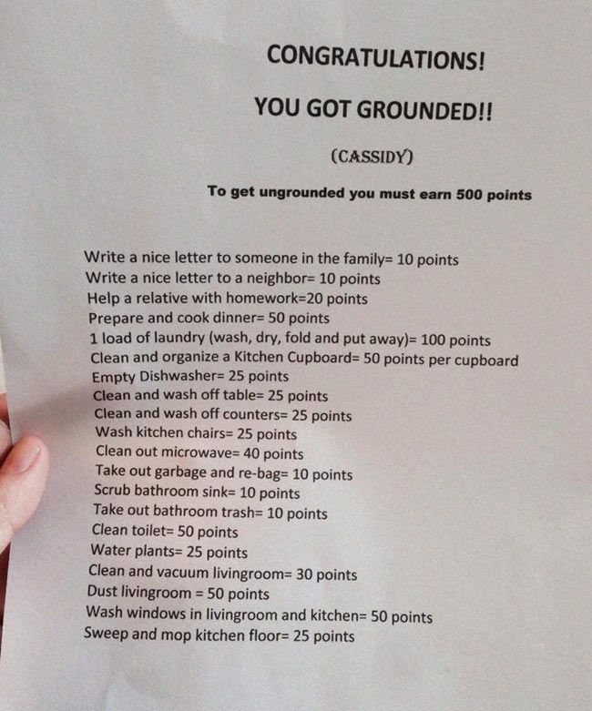 Grounded point system