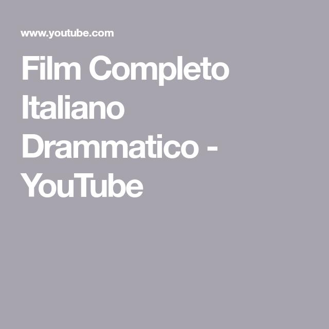Film Completo Italiano Drammatico Youtube Casablanca Movie Film Youtube