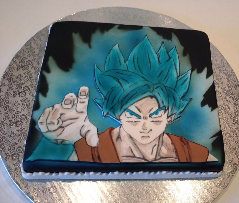gâteau dragon ball z | lesgateauxdekaen3d | pinterest | dragon ball