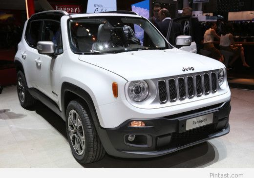 2015 Jeep Renegade Limited Front Side View Com Imagens Carros
