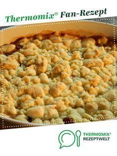 Apfel-Crumble | Rezept | Kuchen | Thermomix, Thermomix ...