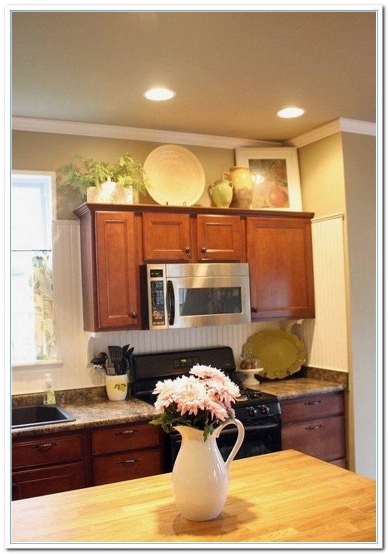 5 Charming Ideas for Above Kitchen Cabinet Decor Home, 5 ...