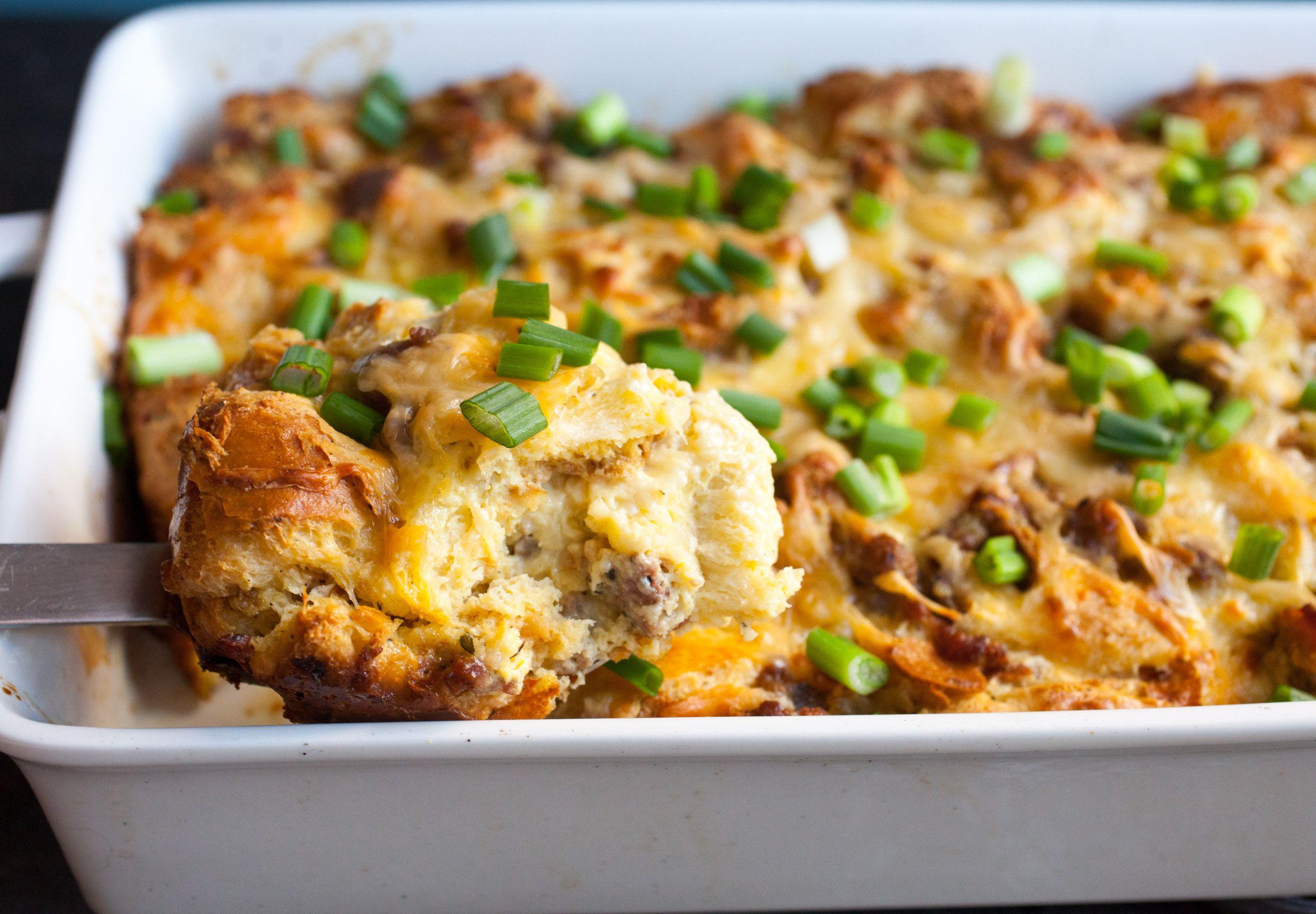 Challah Breakfast Casserole Recipe
