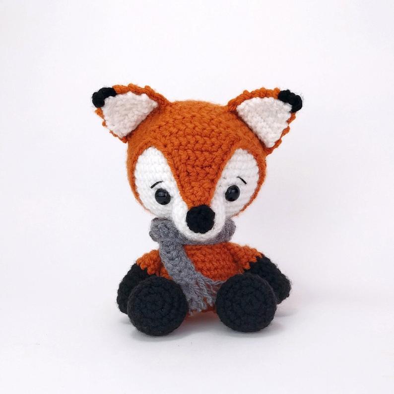 Fox Crochet Pattern - Amigurumi Fox Pattern - Stuffed Animal ... | 793x794